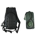 Field Day Pack w/2.5L Hydration System - BLACK